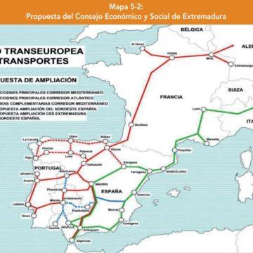 Informe CES: El Corredor Atlántico, una visión integradora desde Extremadura