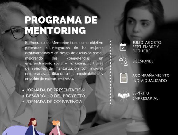 Programa de Mentoring para ayudar a la integración laboral de las mujeres