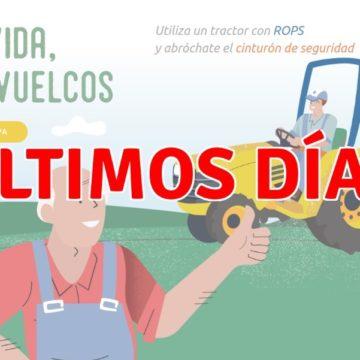 Últimos días para solicitar las ayudas para la renovación del parque nacional de maquinaria agrícola