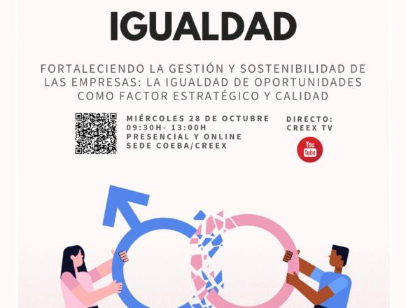 Igualdad: CREEX presenta este miércoles el estudio sobre emprendimiento de jóvenes universitarias y universitarios en Extremadura