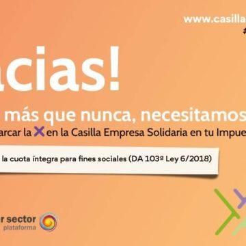 CREEX participa en el webinar 'Más que nunca, empreXas para la cohesión social' organizado por la Plataforma del Tercer Sector de España