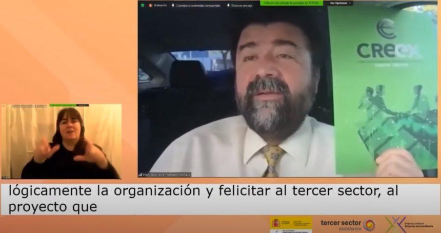 Jornada 'Más que nunca, empreXa solidaria', con la participación de Javier Peinado (vídeo)