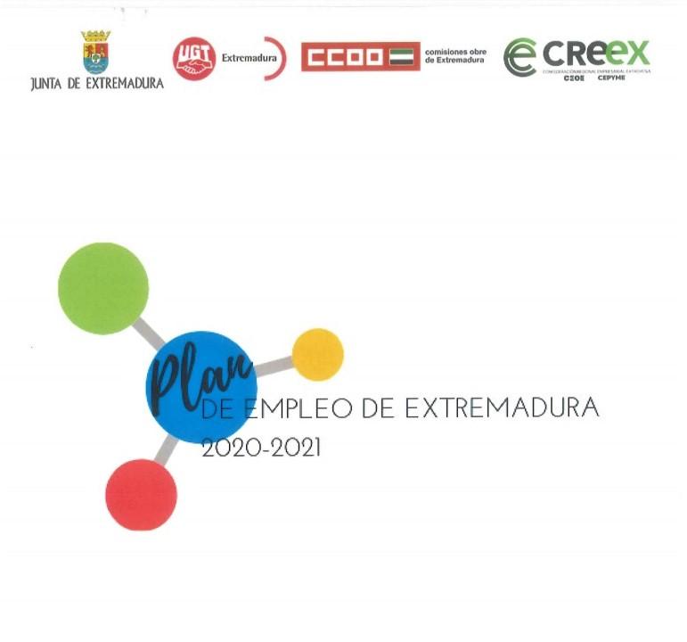 Plan de Empleo de Extremadura 2020/2021 (documento completo)