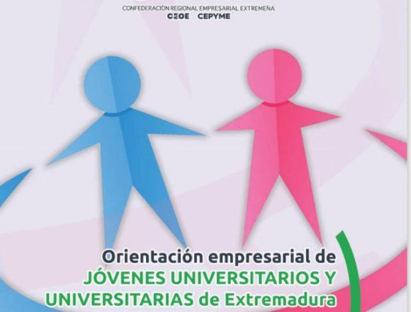 Estudio 'Orientación empresarial de jóvenes universitarios y universitarias de Extremadura: ¿igualdad o brecha según sexos?'