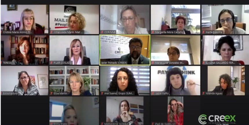 Arranca el Programa de Mentoring de la CREEX en el que mujeres con experiencia laboral y empresarial guiarán a las emprendedoras en sus primeros pasos