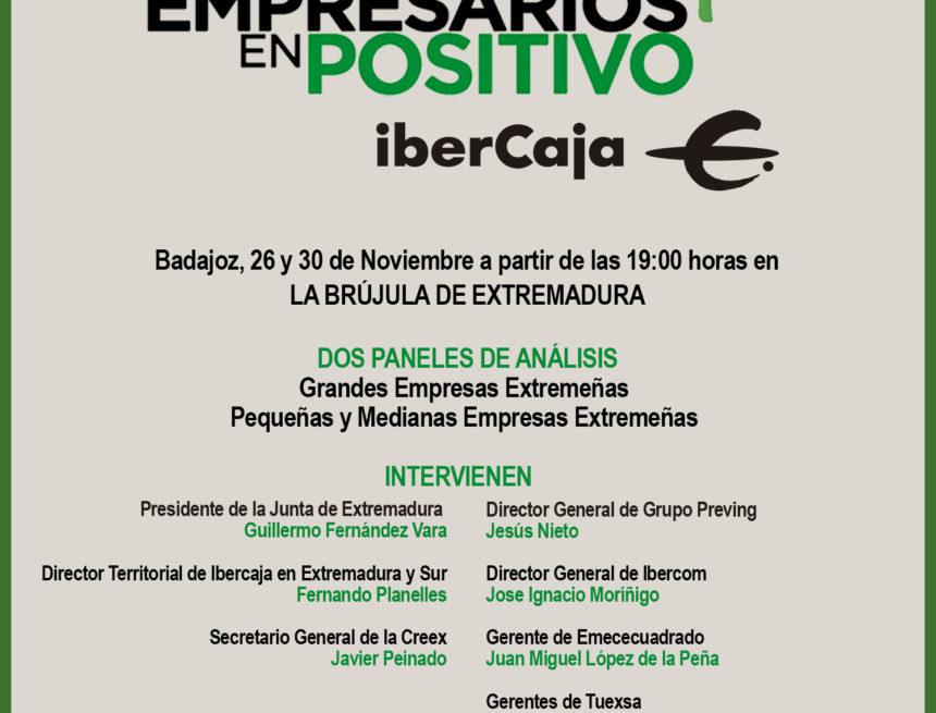 Javier Peinado participa hoy en el III encuentro Empresarios en Positivo