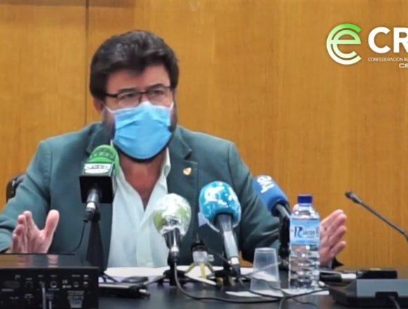 Javier Peinado habla sobre la necesidad de apoyo a pymes y autónomos ante el Estado de Alarma