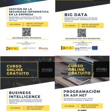 Formación gratuita en herramientas digitales para autónomos y trabajadores en ERTE
