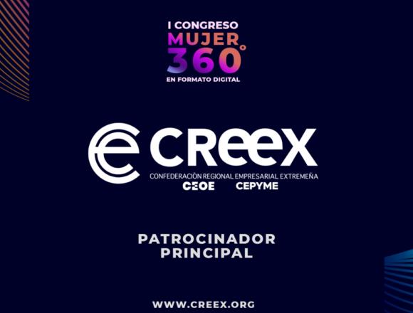 CREEX colabora con el Congreso Mujer 360º que se celebra el próximo día 15