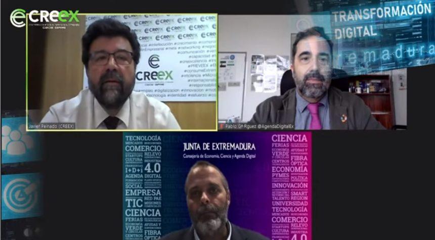 #EmpresasEnDigital: Rafael España garantiza en la jornada de CREEX que en diciembre habrá ayudas directas para empresas y autónomos