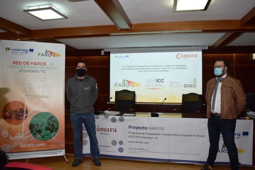 La Cámara de Badajoz presenta sus iniciativas Interreg POCTEP de asistencia sectorial especializada