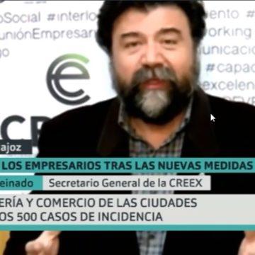 Javier Peinado analiza en Canal Extremadura TV las nuevas limitaciones (vídeo)