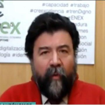 Javier Peinado en Canal Extremadura Noticias (vídeo)