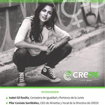 Mañana, a partir de las 12.30 horas, webinar de CREEX para analizar el papel de las empresarias extremeñas en la recuperación y las ayudas para la conciliación y la corresponsabilidad