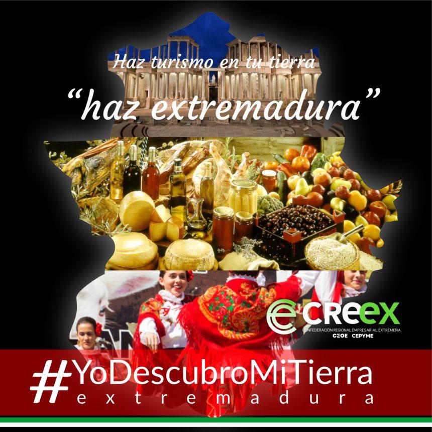 #YoDescubroMiTierra: CREEX pide a los extremeños que (re)descubran la región en las próximas fiestas para apoyar al sector turístico