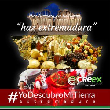 Javier Peinado explica en Canal Extremadura TV la campaña #YoDescubroMiTierra (vídeo)