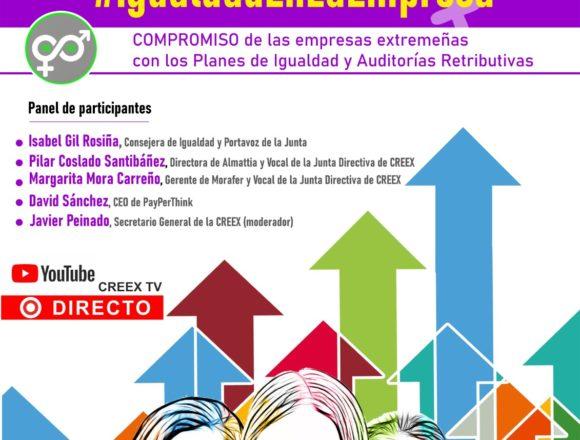 Webinar #IgualdadEnLaEmpresa: vídeo completo de la sesión