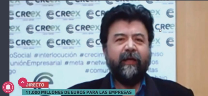 Javier Peinado analiza en Canal Extremadura TV el anuncio de ayudas por parte del Gobierno (vídeo)