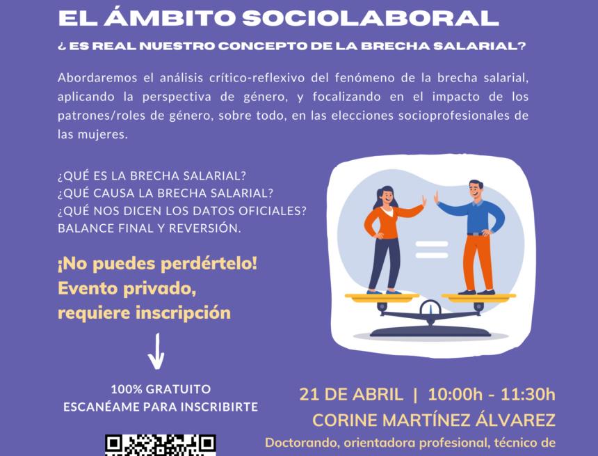 CREEX pone en marcha sus 'píldoras informativas' online sobre Igualdad, abordando el día 21 el tema de las brechas salariales