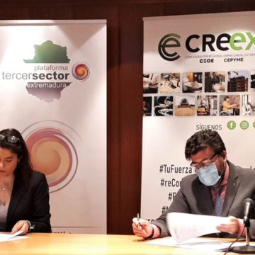 CREEX y PTSEX acuerdan intensificar la cooperación para mitigar el impacto de la crisis socioeconómica provocada por la pandemia