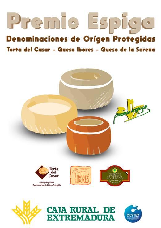 Caja Rural de Extremadura convoca la III edición de los Premios Espiga 'Quesos DOP'