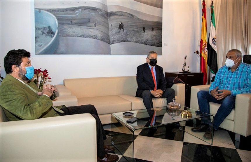 CREEX y Diputación de Cáceres acuerdan intensificar la cooperación para favorecer al tejido productivo de la provincia