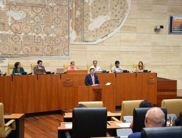 Debate de Política General: CREEX pide a los partidos un gran acuerdo estratégico para aprovechar al máximo los fondos de recuperación de la UE