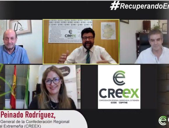 #RecuperandoEmpresas: CREEX pide a empresas y autónomos que soliciten las ayudas pese a la rigidez y limitaciones impuestas por el Gobierno