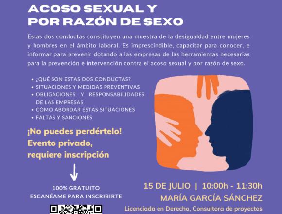 Píldora de igualdad: Protocolos contra el acoso sexual y por razón de sexo