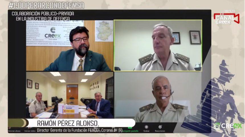 #CooperarConDefensa: cómo las empresas extremeñas pueden integrarse en la cadena de suministros de Defensa y Seguridad y, además, cómo pueden aprovechar el talento de los profesionales formados en el Ejército (vídeo)